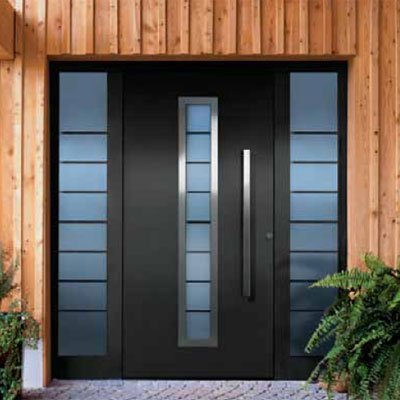 Aluminios femar carpinter a de aluminio cristaler a y pvc for Puertas de metal con vidrio modernas